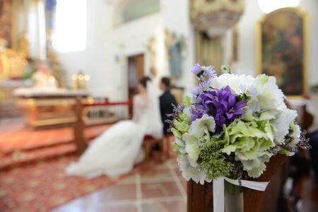 Christian Wedding at church