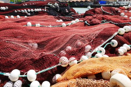 Fischernetze Standard-Bild - 81605172
