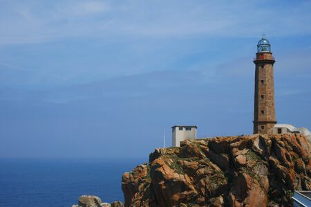 Lighthouse at the costa da morte, spain