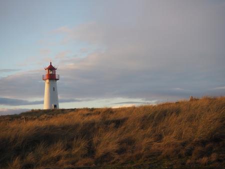 Leuchtturm in Sylt Standard-Bild - 91074430