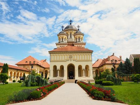 Orthodox church in Alba Iulia, Romania Standard-Bild - 124660045