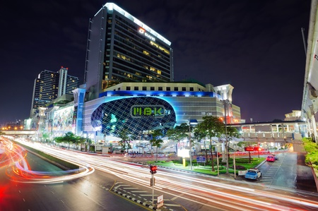 famous shopping center of bangkok,thailand
