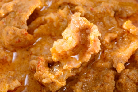 INDIAN CURRY STYLE WITH PORK photo