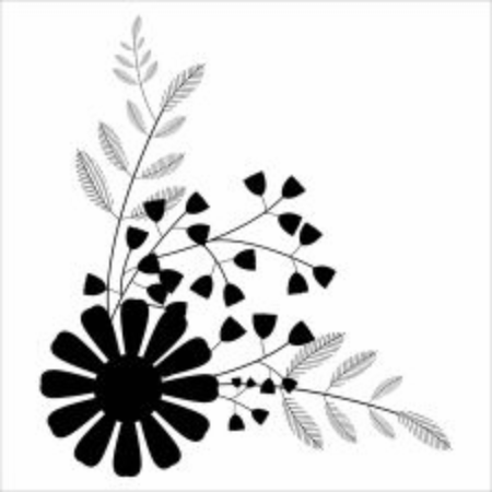 Illustration vector graphic of floral ornament. perfect for any invitation 向量圖像