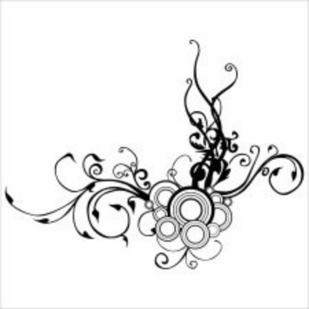 Illustration vector graphic of floral ornament.