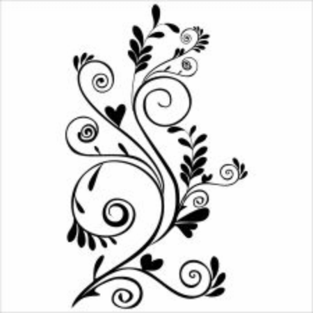 Illustration vector graphic of floral ornament.good for make border or ornament