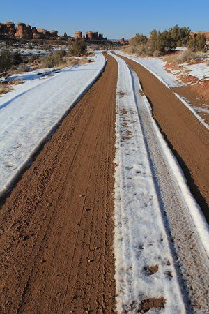 canyonland: Road in South Canyonland