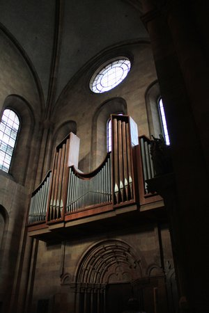 mainz: Mainz cathedral pipe organ