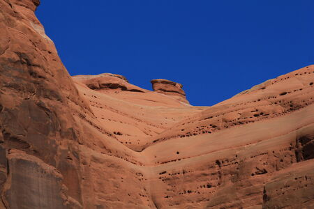 Sandstone cliffs at Arches National Park