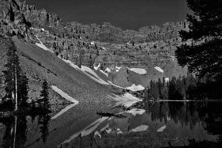 Baker Lake in Great Basin National Park photo
