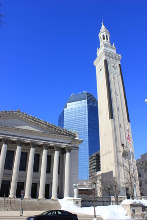 Different architecture of Springfield, Massachusetts