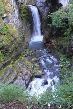 rainier: Waterfall at Mt  Rainier