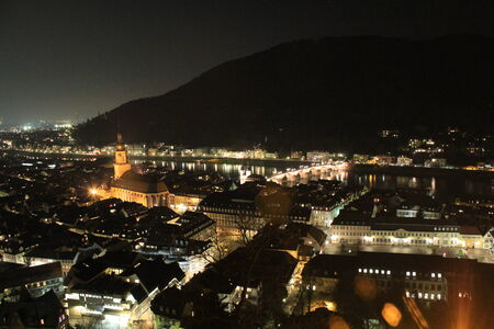 heidelberg: Heidelberg at night