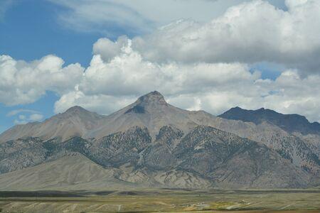 rugged: Rugged Mountain Range Stock Photo