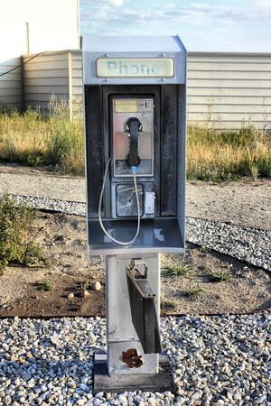 pay phone: Old Pay Phone