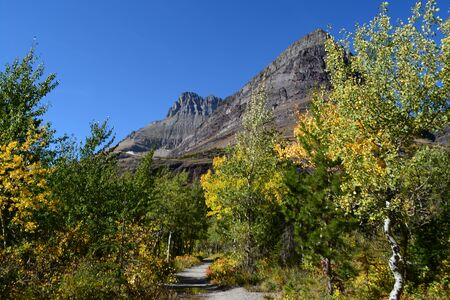 Glacier National Park: Fall in Glacier National Park