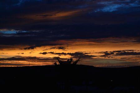 Sunset in oranges Reklamní fotografie