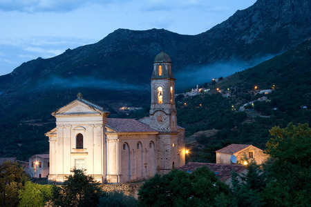 house of god: Churh in Mountains
