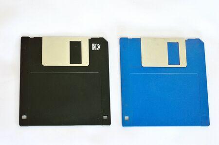floppy: Floppy disk isolate on white Stock Photo