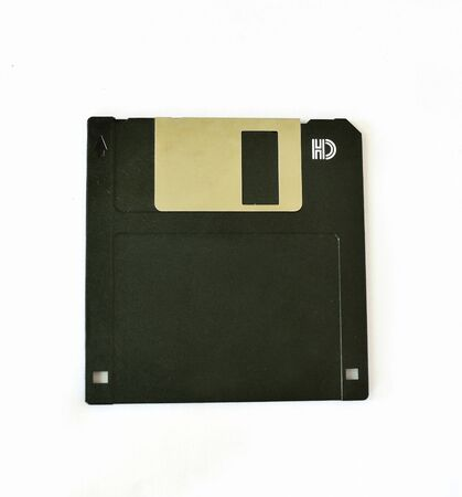 Floppy disk isolate on white photo
