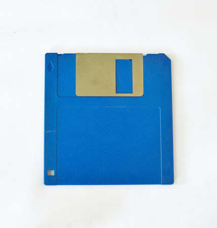 relic: Floppy disk isolate on white Stock Photo