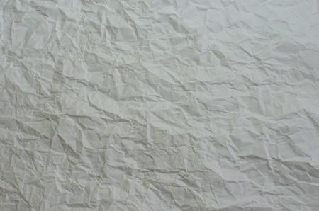 crinkles: white paper
