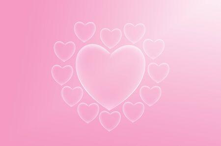 sweet love: amor dulce fondo rosado del coraz�n