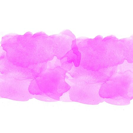 degraded: pink abstract watercolor on white background Stock Photo