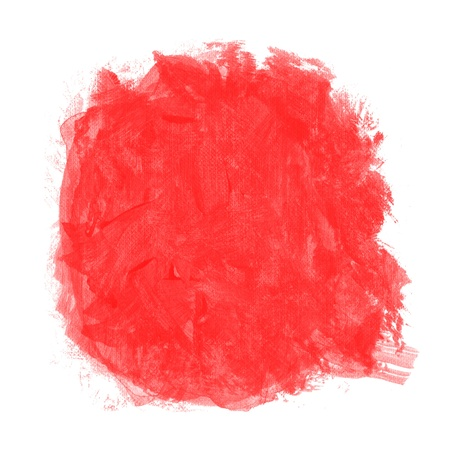 abstract red watercolor on white background photo