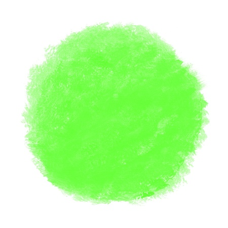 abstract green watercolor on white background photo