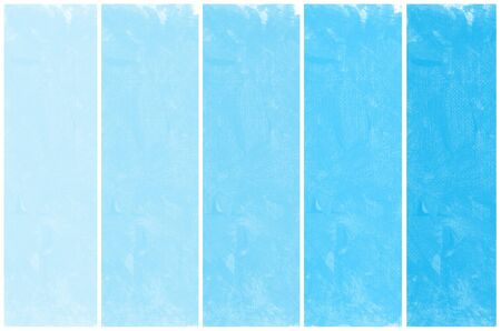 Set of abstract blue watercolor hand painted Stock Photo - 14728308