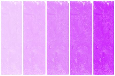 purple grunge: Set of abstract purple watercolor hand painted