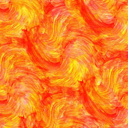 grizzle tint: Abstract orange watercolor background Stock Photo
