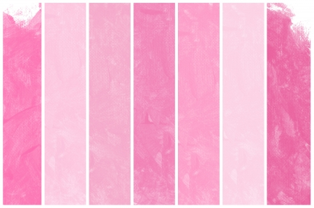 Set Of Abstract pink watercolor hand painted background  Stock Photo - 15375786