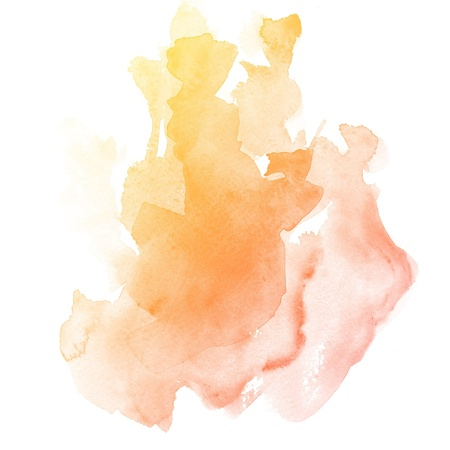 colorful Abstract water color art hand paint background Stock Photo