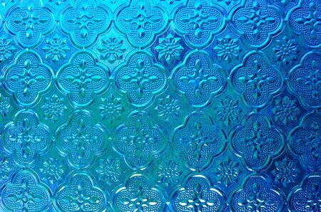 solid color: Abstract blue background vintage texture Stock Photo