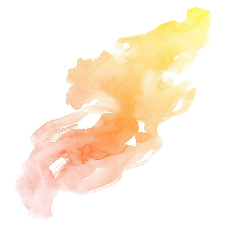 colorful Abstract water color art hand paint background Stock Photo - 16554716