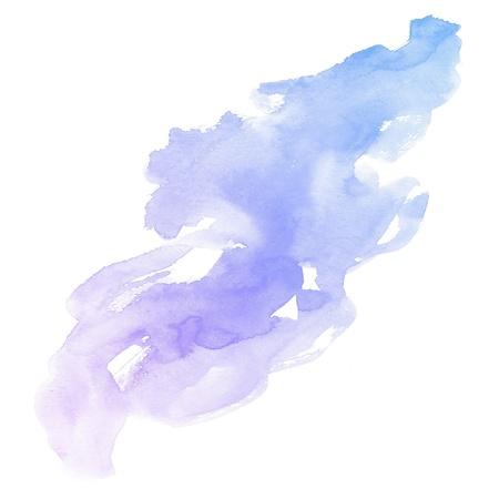 watercolor blue: colorful Abstract water color art hand paint background Stock Photo