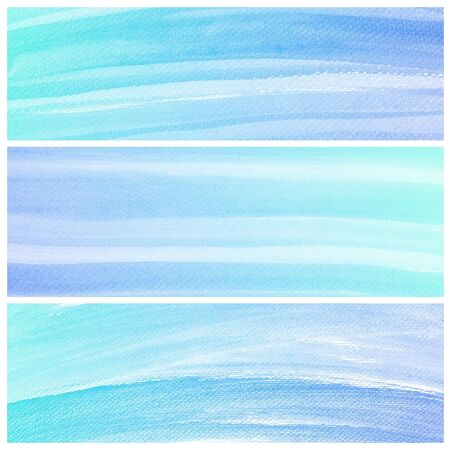 degraded: Set of colorful Abstract water color art hand paint background  Stock Photo