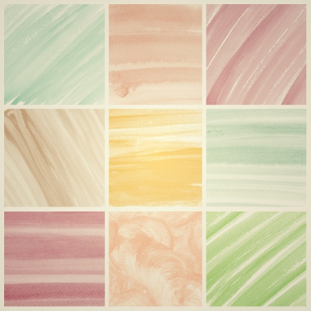 Vintage Watercolor background  colorful Abstract water color art hand paint Stock Photo - 19929179