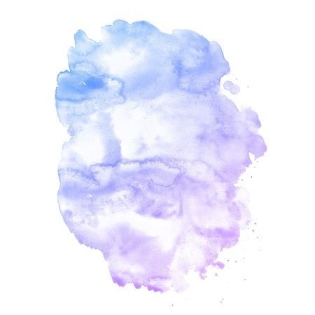 Watercolor background  colorful Abstract water color art hand paint Stock Photo - 20136339