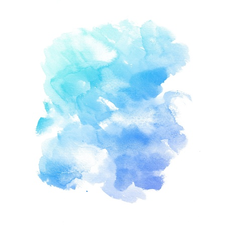 Watercolor background  colorful Abstract water color art hand paint photo