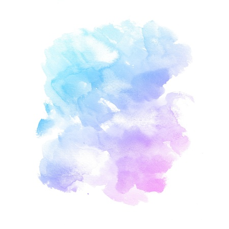 colour intensity: Watercolor background  colorful Abstract water color art hand paint Stock Photo