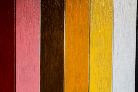 colorful wooden door or wall photo