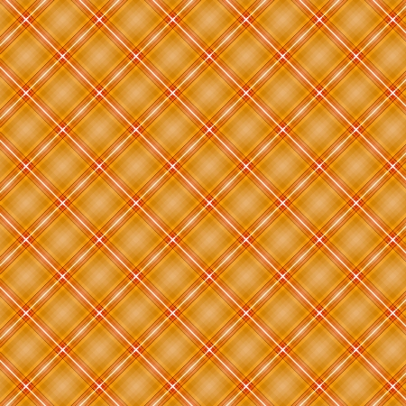 Seamless cross orange shading diagonal pattern, vector illustration Stock Vector - 17581107