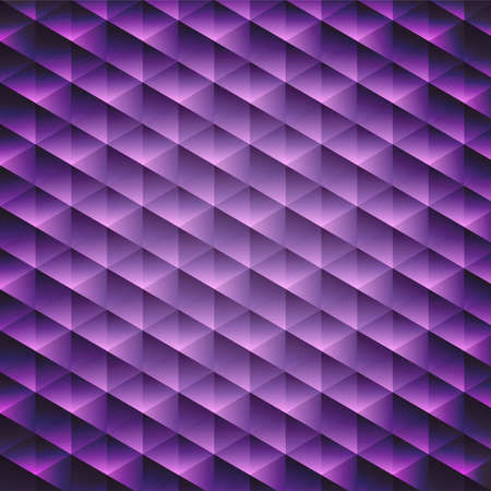 Abstract  geometric violet cubic background, vector illustration Vector