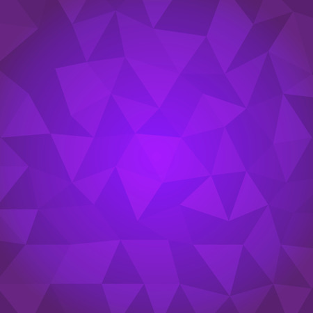 Abstract triangle with violet background, stock vector Vector