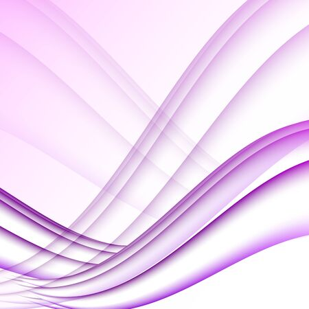 elegantly: Violet and white waves modern futuristic abstract background
