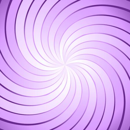 spiraling: Abstract purple ray twirl background, stock vector