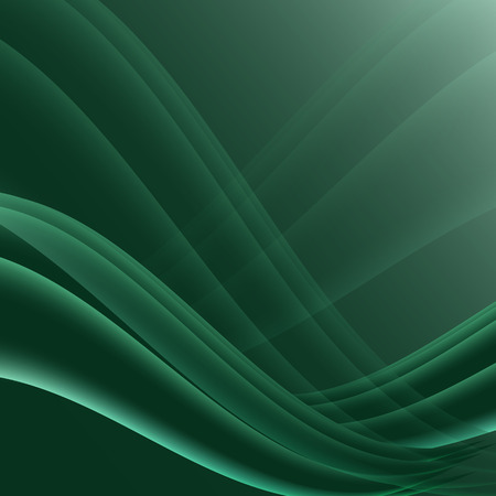 elegantly: Green and black waves modern futuristic abstract background